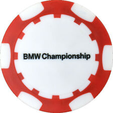 2017 BMW CHAMPIONSHIP (Conway Farms) Logo (RED) POKER CHIP Golf BALL MARKER