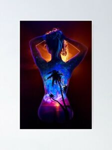 Beyond the Horizon Poster -Black Light Poster - Poster Print