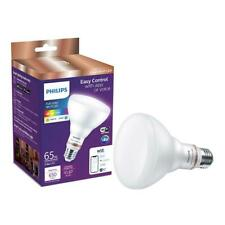 Philips LED Full Color Wi-Fi WIZ Connected Smart Dimmable Lightbulb 65W BR30