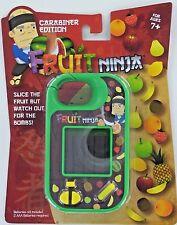Fruit Ninja MINI arcade GAME Handheld Carabiner Edition Travel Slice Halfbrick