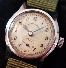 Orologio WEST END WATCH Co. WW2 vintage anni 40, tutto acciaio, funzionante