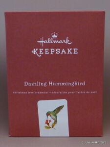 2016 Dazzling Hummingbird Premium Metal CHRISTMAS KEEPSAKE ORNAMENT