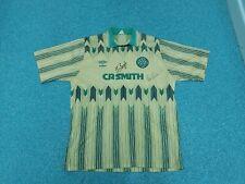Vintage Celtic CR Smith Large Mens Away Signed Football Shirt