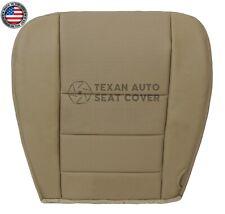 2002, 2003 Ford F250 F350 Lariat XLT Passenger Bottom Leatherette Seat Cover Tan
