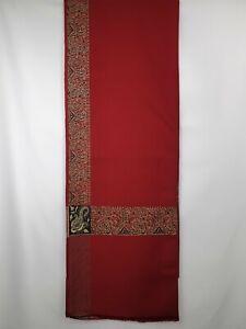 yemeni arab kashmiri red shawl shemagh scarf mens sufi headscarf shia soft