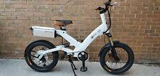 "A2B Modern Hybrid Electric Full Suspension Bike - White 17"" Frame"