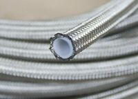 """-10 AN10 (1/2"""")  20FT 12.95mm Braided Stainless Steel PTFE  Fuel Line Hose"""