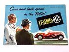 1953 1954 MG TF Series Original Vintage Car Sales Brochure Catalog - 53144