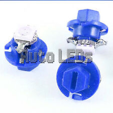1 Blue SMD LED B8.4D Neo Wedge 12v Interior LED Bulb
