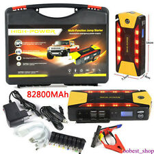 New 82800mAh Car Jump Starter Power Bank Emergency Charger Battery Booster US
