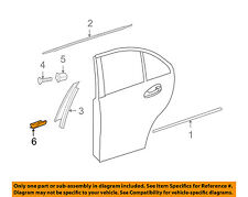 MERCEDES OEM 08-14 C300 Exterior-Rear-Lower Cover Right 2047370288