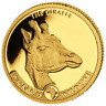 Kongo Giraffe Gold 0,5 Gramm Or 2019 Congo Worlds Wildlife 10 Francs PP Proof