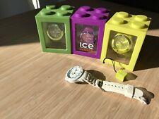 Lot de Montres Ice watch - jaune - mauve - verte - blanche