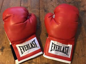 EVERLAST Boxing Advanced Training Gloves 14 oz Red & White Model 2914RT - NEW