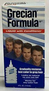 Grecian Formula Liquid with Conditioner - 4 oz