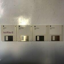 Apple StyleWriter II  Installation Disks