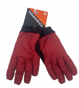Hawke & Co Size L/XL Red Insulated Winter Gloves NWT $48