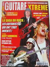 GUITARE XTREME n°17 # 2006 # ANDY SUMMERS #  + PARTITIONS sans DVD
