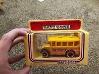 lledo models of days gone school bus brand new in box *b*