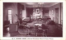 Bognor Regis. Victorian Convalescent Home for Surrey Women # 5. Sitting Room.