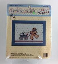 Daisy Kingdom Cross Stitch Wagon Full Of Friends Bucilla 40557-407