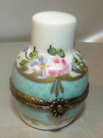 New Round with parfum, Nr.28, Porcelain Limoges Box NEW