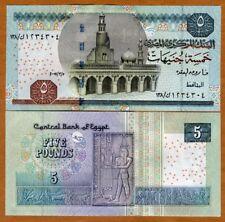 Egypt, 5 Pounds, 2007, P-63b, UNC