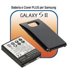 Batteria POTENZIATA Marca Smartex 3500mAh + COVER per GALAXY S2 SII i9100
