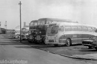Peter Sheffield Cleethorpes NFR954 Depot 1974 Bus Photo