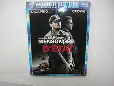 DVD blu ray MENSONGE D'ETAT   neuf Dicaprio Crowe