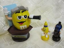 LOT OF RARE YELLOW COLUMBUS DISPENSER, BISHOP & KNIGHT CHESS M&M CANDY