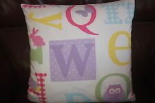 Laura Ashley A B C Cushion Cover 13in x 13in approx.