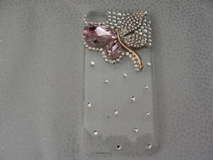 IPOD TOUCH 5/6 TH GEN CASE LUXURY COVER RHINESTONE BLING DIAMONTE BUTTERFLY