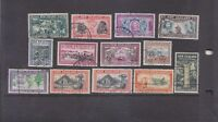 NEW ZEALAND-1940-KGVI-NZ CENTENNIAL SET-SG 609/21-F/U-$20-freepost
