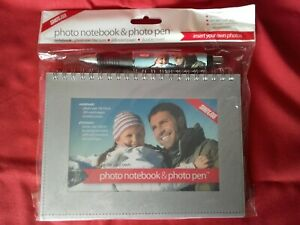 Photo Notebook & Photo Pen Set Shot2Go New & Sealed Create Your Own Free Postage