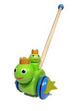 Schiebetier Froschkönig, Schiebetier aus Holz, Schiebespielzeug