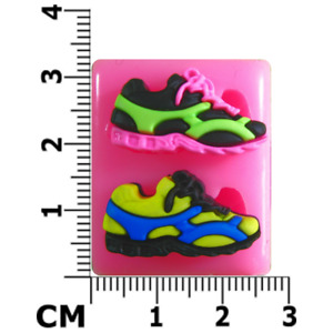 Pair of Running Shoes / Trainers Mould by Fairie Blessings