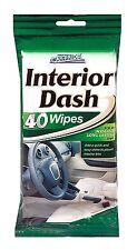 40 INSTANT CAR INTERIOR DASH BOARD SHINE WIPES CAR PRIDE CLEAN RESEALABLE BAG