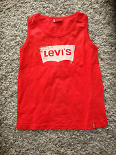 T-shirt  debardeur rouge enfant marque LEVIS Taille 6 ans