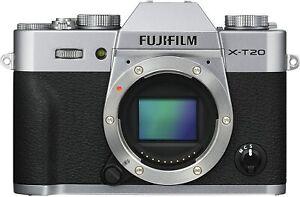 Fujifilm X-T20 Digital Camera Body - Silver *BRAND NEW*