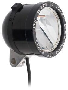 Neuheit LED Scheinwerfer SON Edelux II schwarz mit 140 cm Kabel Anschlüsse lose