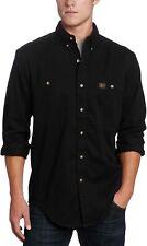 Wrangler Riggs Workwear Men's Logger Twill Long Sleeve Work Shirt