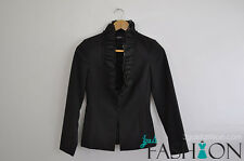 Polyester Blazer Regular Size Coats & Jackets for Women