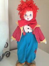 Porcelain Musical Clown By Russ