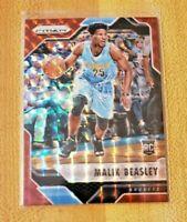 2016-17 Panini Prizm Mosaic Red RC Malik Beasley #66 Denver Nuggets Rookie Card