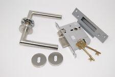 Mitred Door Handle External Timber Door Set to BS3621 with 2 Keys.
