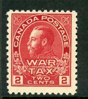 Canada 1915 War Tax 2¢ Carmine  Admiral Scott #MR2 MNH Z565