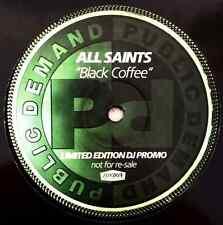 "ALL SAINTS - Black Coffee (The Wideboy Mixes) (12"") (Promo) (VG-/NM)"