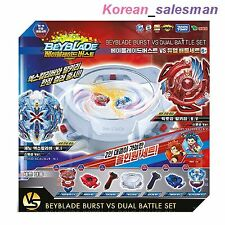 BEYBLADE BURST VS DUAL BATTLE SET BK-01/ B-34(Red Ver.)+B-48(Blue Ver.) Takara