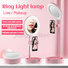 64 LED Ring Light Dimmable Lighting Phone Selfie Stand Makeup Live Lamp  U! W!
